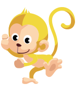Regional Recycling - monkey - chinese new year